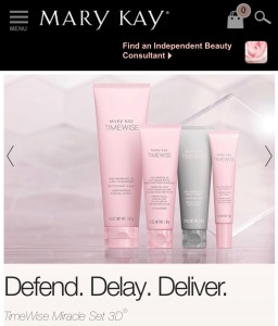 skin shot - mary kay time wise