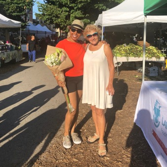 Amy and Hedy Farmers Market 8-3-19