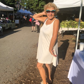 Hedy Ratner at Farmers Market 8-3-19