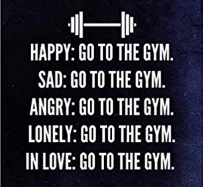 Go to the GYM 2